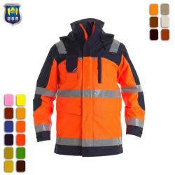 Vestuário de trabalho mais recentes diretamente da fábrica profissional Hi Vis casacos