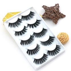 Ultra Schönheits-Eigenmarken-kundenspezifische Wimperverpackenfaux-Seide-Wimpern