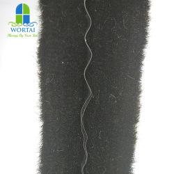 Wollhaufen mit PVC-Fin-Wetterstreifen für Schiebetürfenster