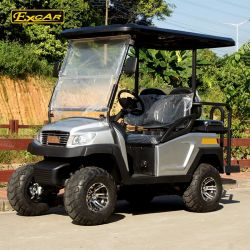 Fabricado na China 4 lugares para a venda de carros de golfe eléctrico