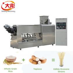 Einzelne Schraubenzieher-gebratene Teigwaren-Makkaroni-Imbiss-Nahrungsmittelextruder-Maschine