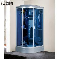 Stanza automatizzata acquazzone del bagno a vapore di massaggio della stanza da bagno con alluminio grigio