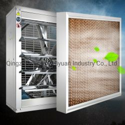 Het Verdampings Koelen Document het van uitstekende kwaliteit van het Stootkussen voor het Systeem van de Ventilatie met het Frame van het Aluminium voor de Apparatuur van het Gevogelte