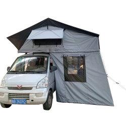 屋外の冒険家族のキャンプのための防水車の屋根の上のテント