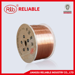 Alambre de acero revestido de cobre (CCS) (se utiliza para enlazar el cable, la cadena de joyería, piano, tubo de tapay cadena de cable de aislamiento).