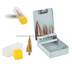 Etapa HSS broca para Metal Platestainless aço, cobre, PVC
