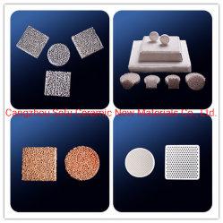 Venta caliente de fábrica de cerámica personalizada filtro de espuma Slice
