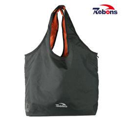 Черный рекламных Custom RPET переработанных дамы магазинов брелоки правой подушки безопасности