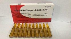 Complexe de soins de la peau d'injection de vitamine B antivieillissement