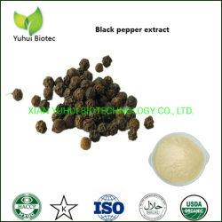 Extraire la pipérine Poudre de poivre noir