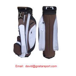 Segeltuch-Golf-Karren-Beutel, Golf-Standplatz-Beutel