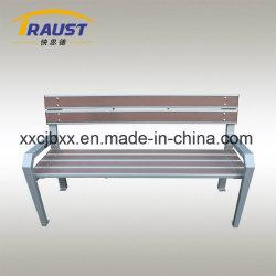 新製品の木製のプラスチック庭のベンチ、鋳鉄が付いている旧式な椅子