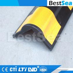 Protezione d'angolo di gomma della protezione della parete di sicurezza di parcheggio del garage