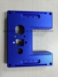 L'oxydation des pièces de précision personnalisé Bleu moule d'usinage CNC/Pièces du moule