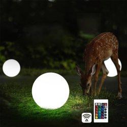 Venta de fábrica de bola iluminada, iluminación de jardín, bola de luz LED, LED Lámpara de exterior Decoración