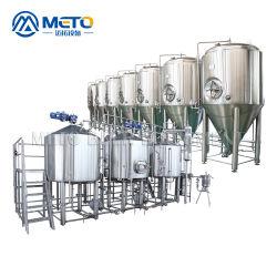 1000Lクラフトのビール醸造所装置商業用ビール製造システム