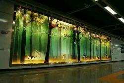 La impresión digital serigrafía para la decoración de cristal templado