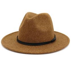 Real Wool Men Winter Fedora HAT Men Jazz Cap