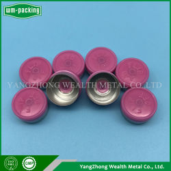 13mm Aluminiumorale flüssige Flaschenkapsel-Plastikdichtung