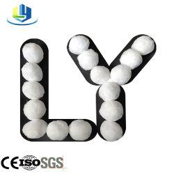 Suministro de fábrica de fibra de poliéster Balls medios del filtro de aceite para el tratamiento de agua en el campo