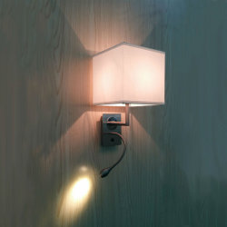 Hotelguestroom-KopfendeGooseneck flexibles LED und Gewebe-Farbton-Anzeigen-Wand-Licht