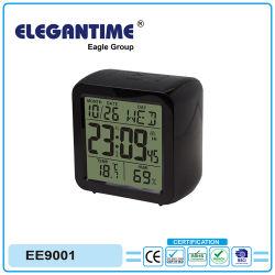 De originele Grote Digitale Vertoning van het Ontwerp met de Klok van de Kalender van de Thermometer en van de Hygrometer