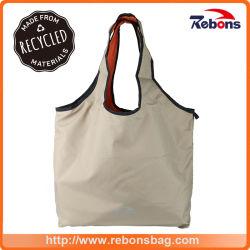 Мода роскошь рекламных переработанного ПЭТ стороны сумки Бич брелоки магазинов сумки для девочек и женщин, женщин