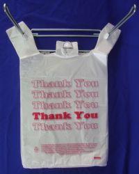 Main d'emballage des aliments en plastique Shopping Garbage Corbeille ordures gilet d'emballage T Shirt Sac de rouleau