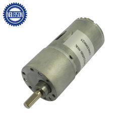 37mm 12V DC de baixa rpm de alto torque do motor de engrenagem