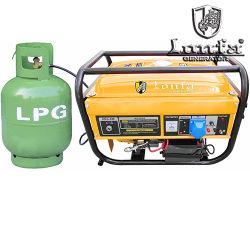 2800W de gas y gasolina generador de doble uso de GNL y GLP Generador Gasolina