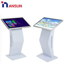 디지털 Signage 토템 간이 건축물을%s 인조 인간 또는 Windows IR LCD 다중 Touchscreen 전시