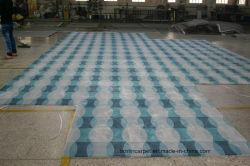 Handtuft carpetes e tapetes de material de lã