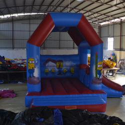 Funny gigante comercial insufláveis Combo Azul deslize para crianças