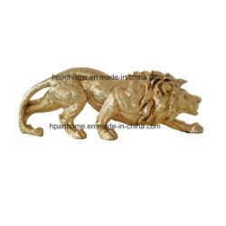 Оформление пластика скульптура льва подарок сувенир Craft оформление Polyresin полимера