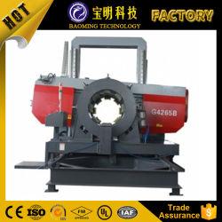 Double-Column Máquina de cortar el tubo de acero Metal sierra de banda horizontal