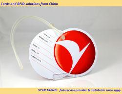 Custom Thermo PVC réinscriptible l'adhésion VIP carte visuelle