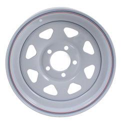 Las llantas de 14 pulgadas de acero blanco habla las ruedas del remolque