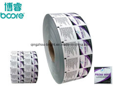 Напечатано спиртом тампоном Упаковка Бумага/PE//Emaa из алюминиевой фольги ламинированные чехол