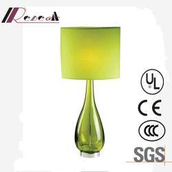 De unieke Decoratieve Schemerlamp van het Bed van het Glas van het Ontwerp Groene