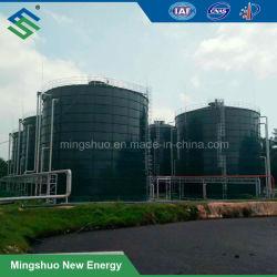 Het Staal Anaërobe Organische Biodigester van het biogas voor het Afvalwater van de Installatie van het Zetmeel van de Maniok