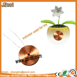 Espiral de cobre de la bobina de inducción de la bobina de la antena de la bobina de oscilación de juguete