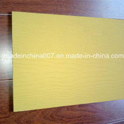 Le bardage planche de bord ou de la fibre de ciment Le Silicate de calcium d'administration
