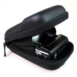 Провод фиолетового цвета кожи Конструкция Clssic EVA противоударная сумка для цифровой фотокамеры случае чехол (FRT2-381)