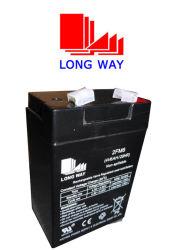 4V6ah batería eléctrica recargable Stoarge para iluminación de emergencia