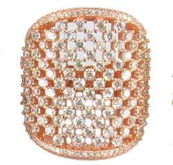 2015 Mode bijoux Pierre Semi-Precious 925 Bague en Argent Sterling Commerce de gros (R10538)