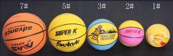 Novo Design de tamanho diferente do basquetebol de Borracha
