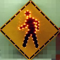 태양 강화된 Pedestrain 교차점 소통량/도로 표지