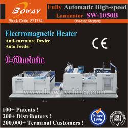 Sw-1050b ملصق الأسطوانة الساخنة الصناعي التلقائي مقاس A1 A2 على الجانبين A3 B1 B2 B3 C1 C2 الورق كبير الحجم مصباح