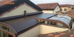 熱い販売の屋根の使用または巻上げ式ブラインドまたはブラインドまたは日よけまたは日よけのおおいまたはローラーのための水平アルミニウムローラーシャッターシャッターまたは日よけの日除けまたはローラーシャッター