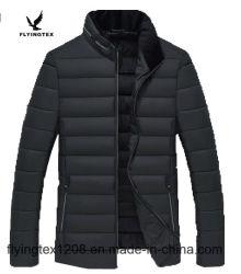 Mann-Winter-Mantel-Auffüllen-Mantel